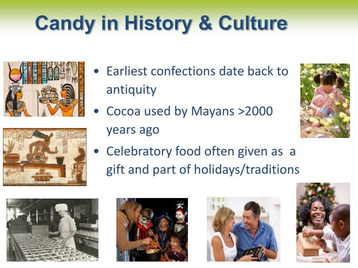 Candy in history culture