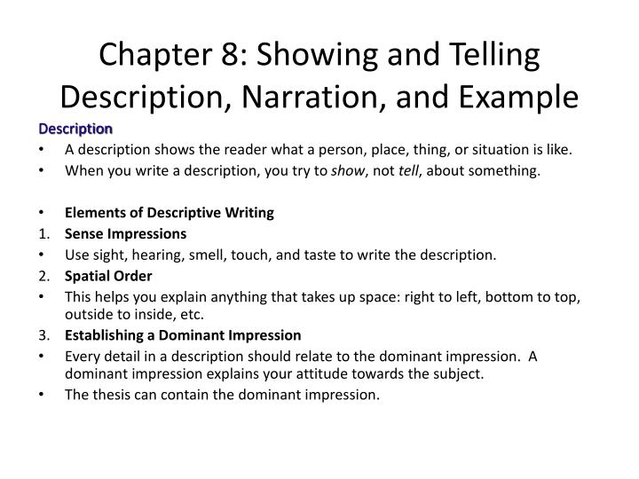 chapter 49 essay example
