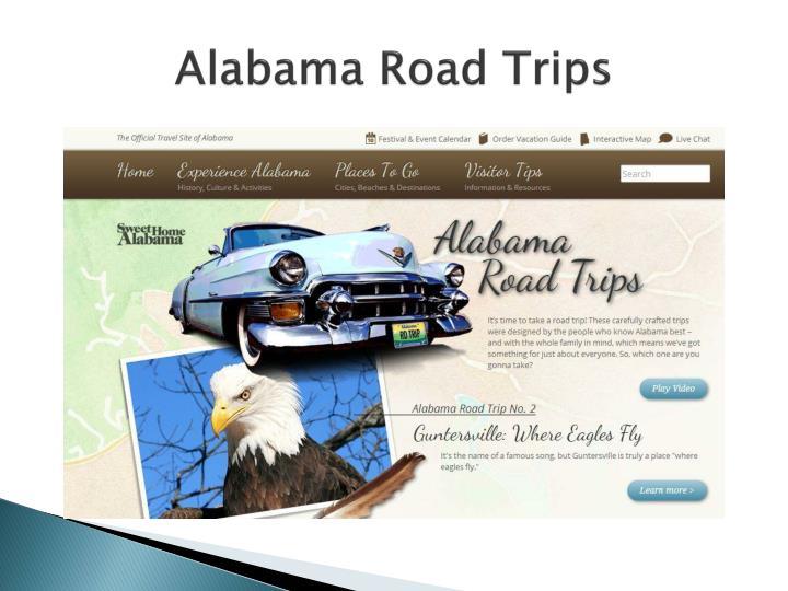 Alabama road trips