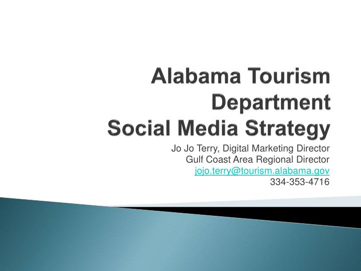 Alabama Tourism Department