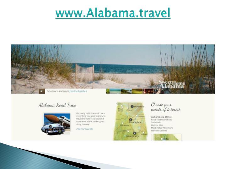 Www alabama travel