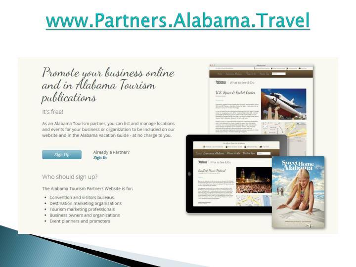 www.Partners.Alabama.Travel