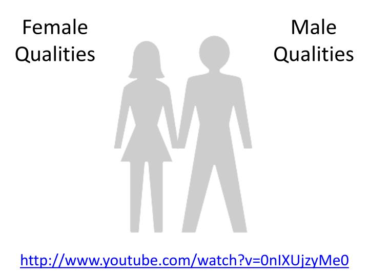 Male qualities