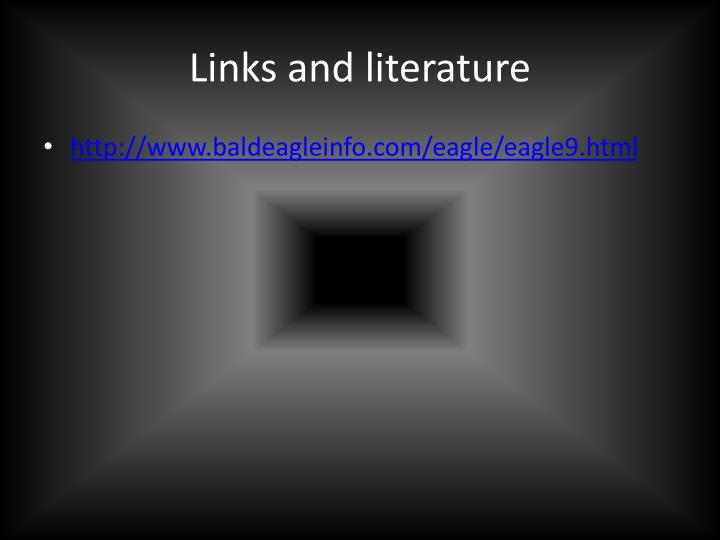Links and literature
