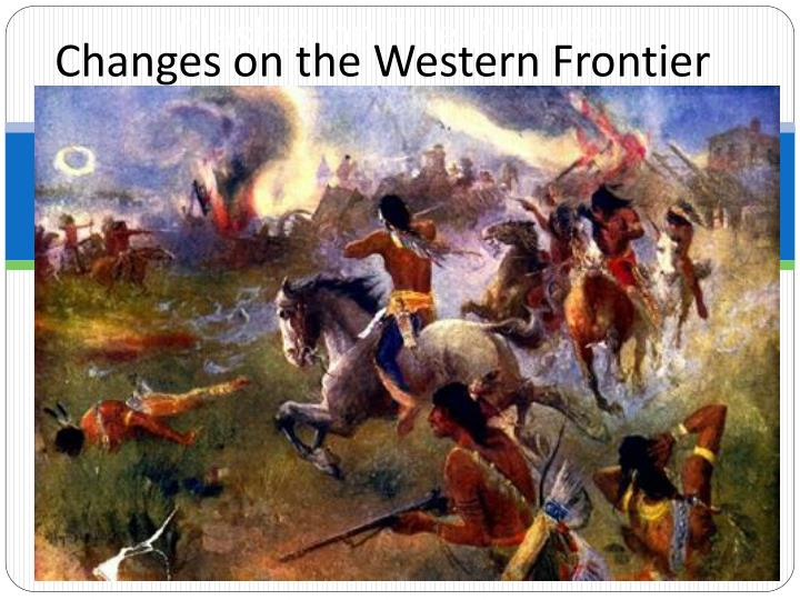 clashes on the frontier n.