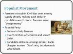 populist movement