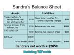 sandra s balance sheet1