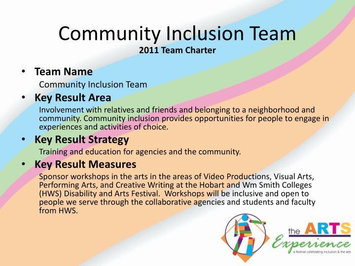Community Inclusion Team