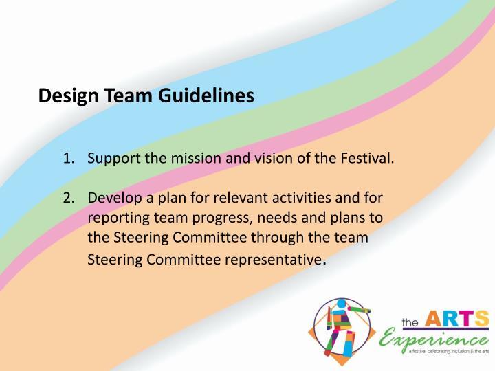 Design Team Guidelines