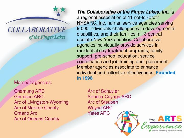 The Collaborative of the Finger Lakes, Inc.