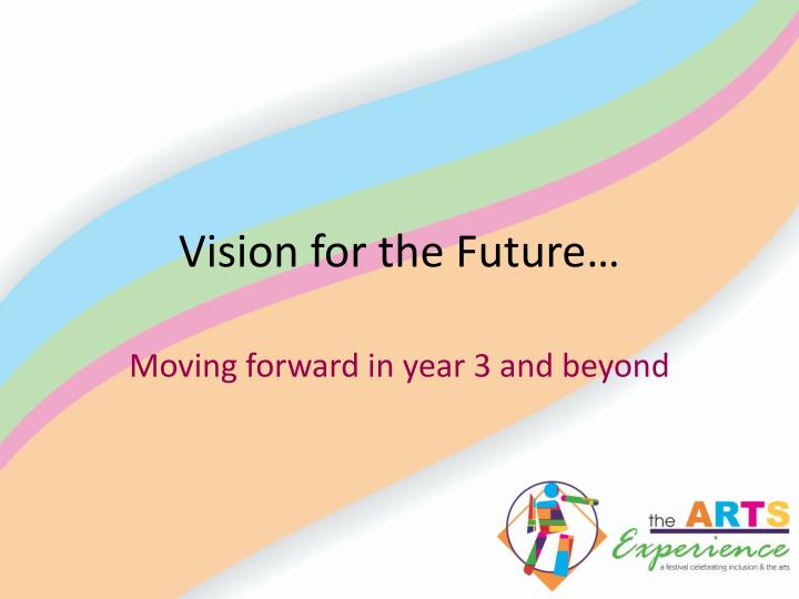 Vision for the Future…