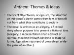 anthem themes ideas