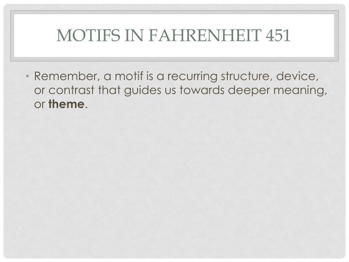 Motifs in