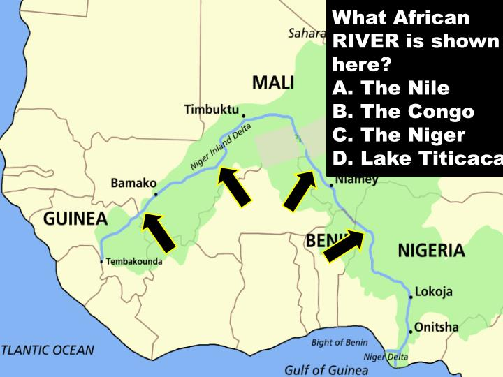 What African RIVER is shown here?