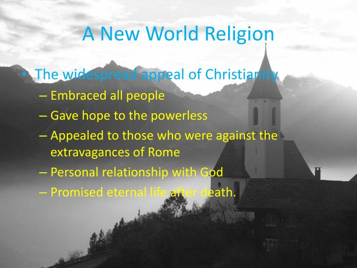 A New World Religion