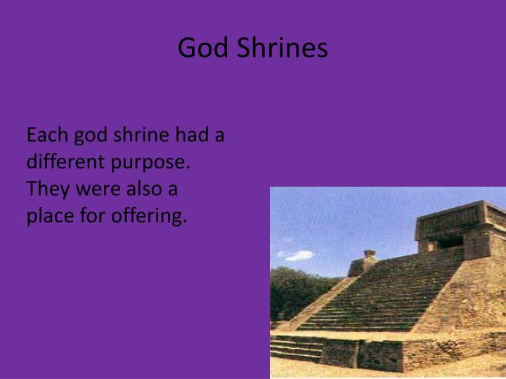 God Shrines