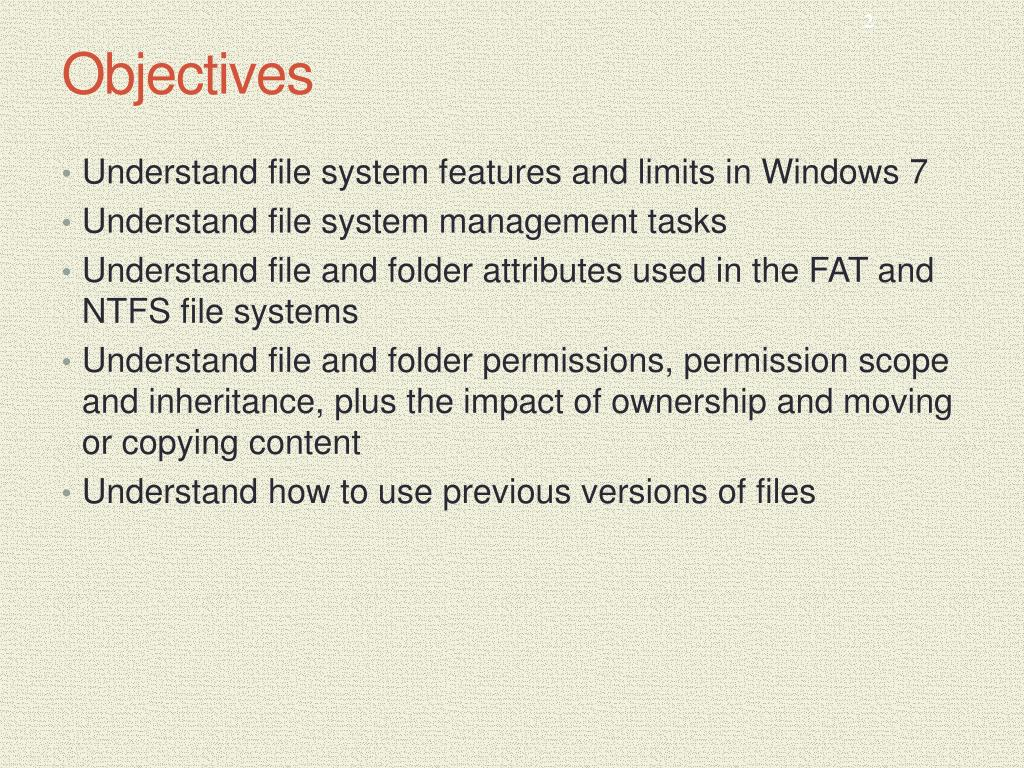 PPT - MCSE Guide to Microsoft Windows 7 PowerPoint Presentation - ID