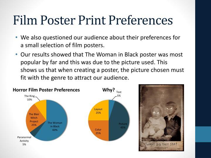 Film Poster Print Preferences