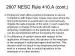 2007 nesc rule 410 a cont