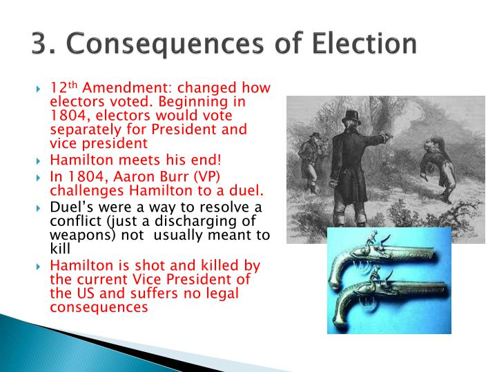 3. Consequences of Election