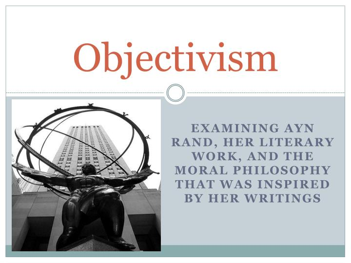 the philosophy of ayn rand in her literary work anthem