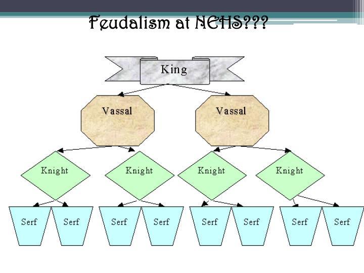 Feudalism at NEHS???