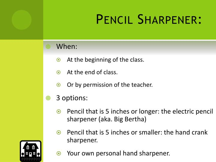 Pencil Sharpener: