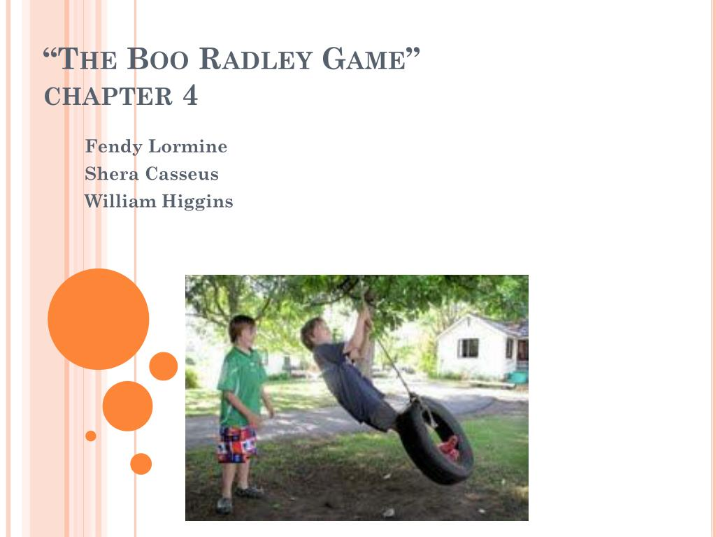 what purpose does boo radley serve in the story