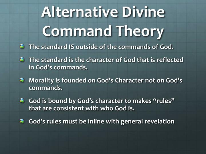Alternative Divine Command Theory