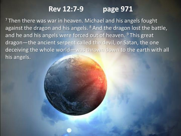 Rev 12:7-9