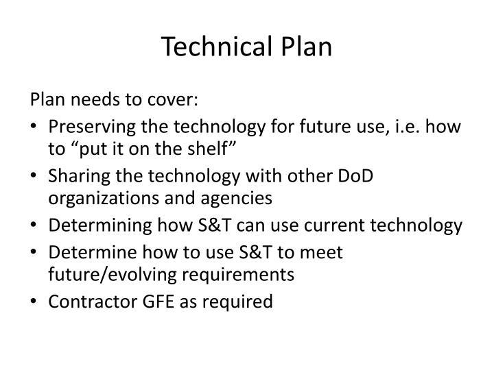 Technical Plan