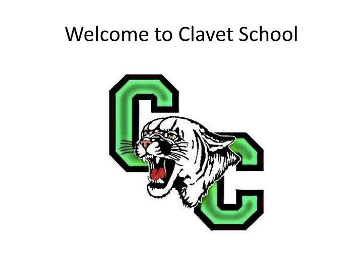 welcome to clavet school n.