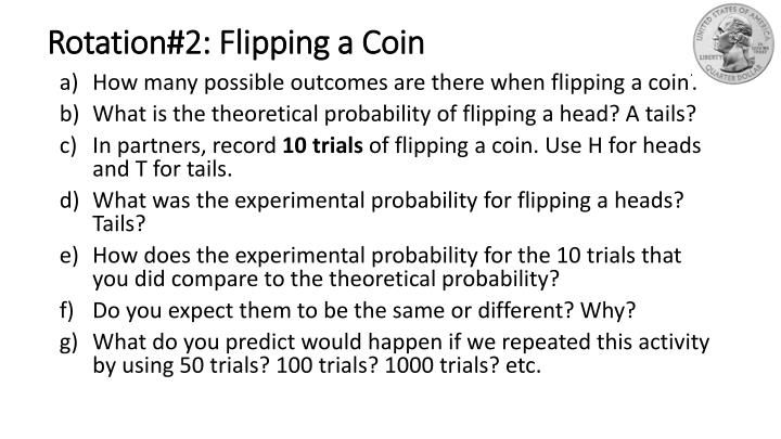 Rotation#2: Flipping a Coin