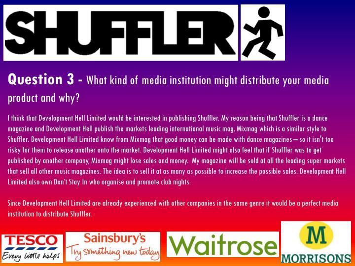 Question 3 -