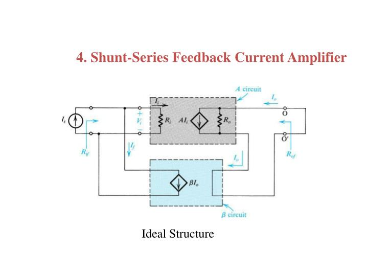 4. Shunt-Series Feedback