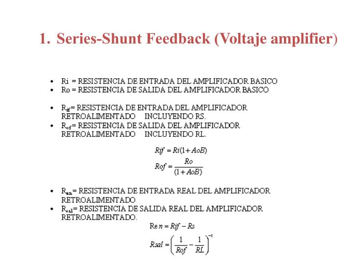 Series-Shunt Feedback (