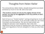 thoughts from helen keller
