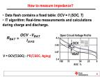 how to measure impedance