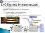 lhc shunted interconnection