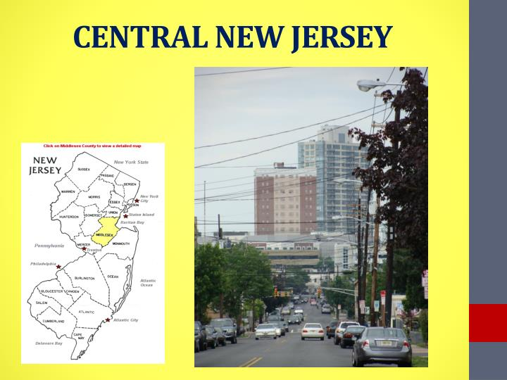CENTRAL NEW JERSEY