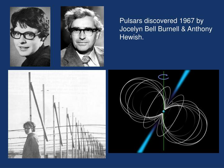 Pulsars discovered 1967 by