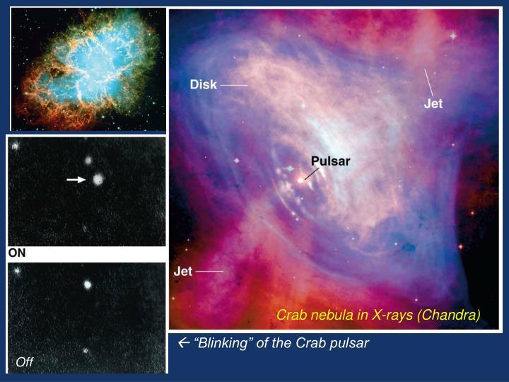 Crab nebula in X-rays (Chandra)