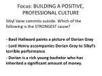 focus building a positive professional culture