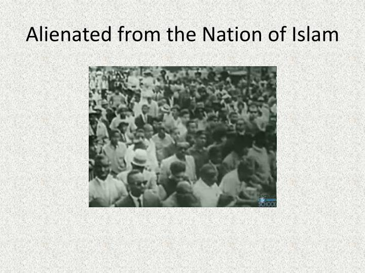 Alienated from the Nation of Islam