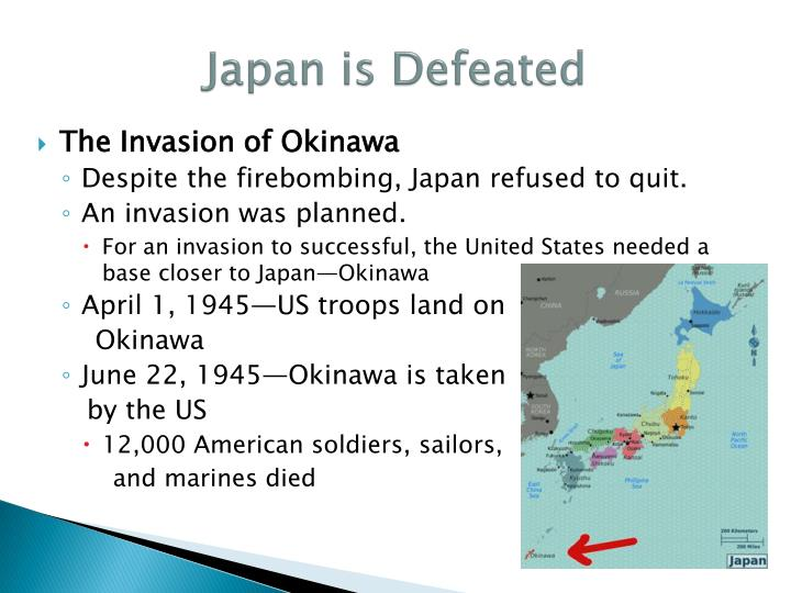 Japan is Defeated
