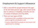 employment support allowance1
