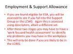 employment support allowance5
