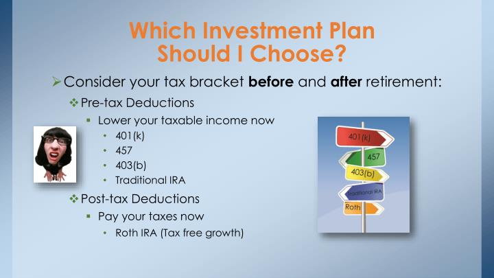 Which Investment Plan
