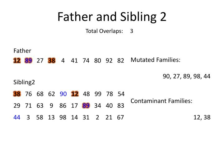 Father and Sibling 2