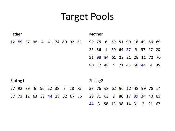 Target Pools